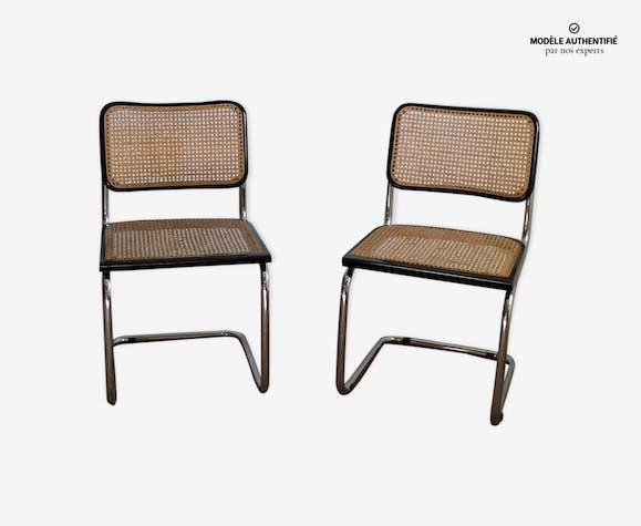 Paire de chaises par Marcel Breuer