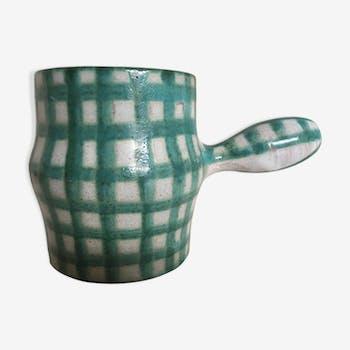Vallauris ceramic pot, 60s