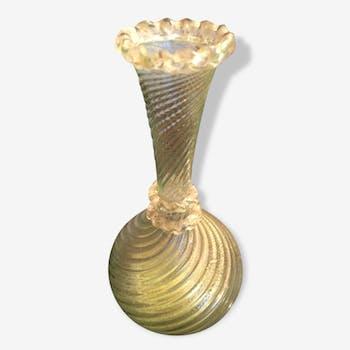 Soiliflore en verre de Murano
