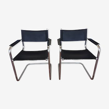Pair of Cantilever S34 Mart Stam chairs