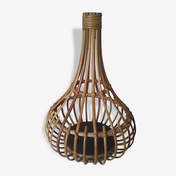 Foot of table lamp rattan
