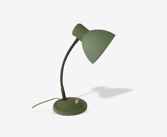 Lampe de bureau vintage vert amande