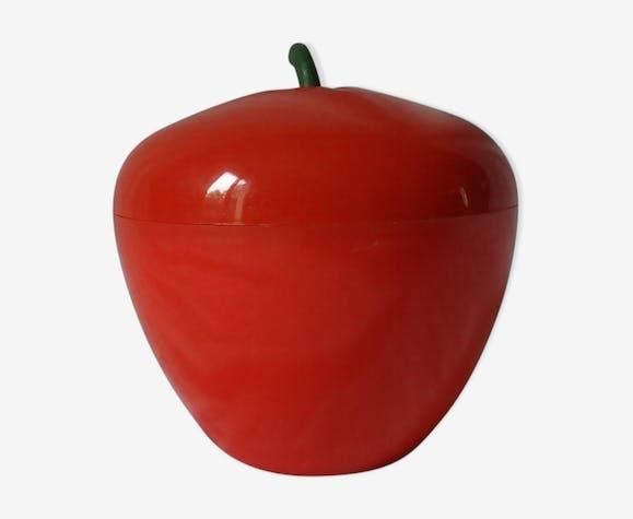 Seau à glaçons vintage pomme
