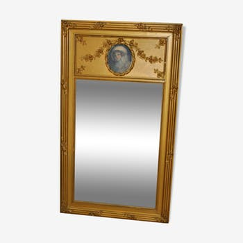 Large mirror romantic Pier 124x71cm