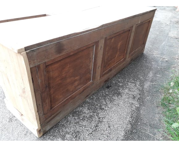 Old-board drawer bank