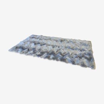Carpet Rug gray 126x66cm