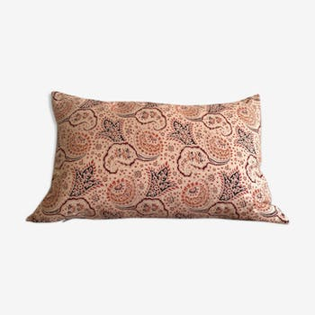 Vintage fabric cushion cover