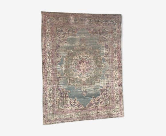 Grand tapis ancien persan kerman 19éme siècle 300x400 cm