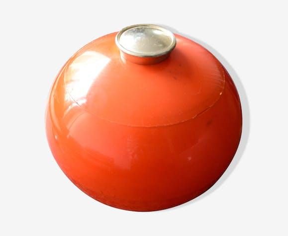 Boule à glaçons orange vintage