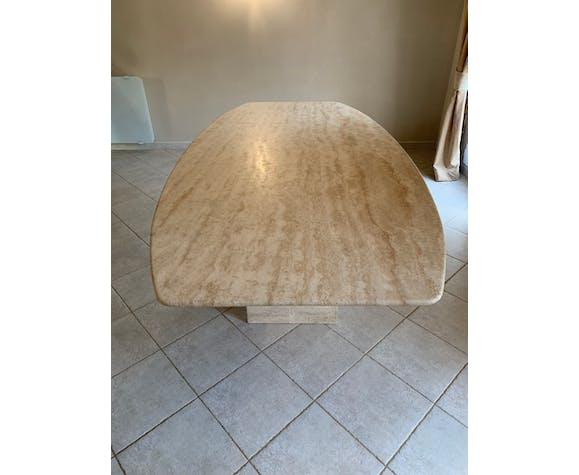 Tavertine table