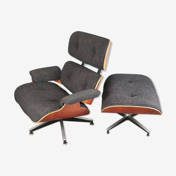 Lounge chair et ottoman Eames Herman Miller