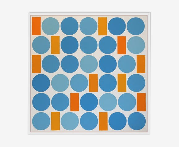 Peinture sur toile 50X50cm, minimalisme