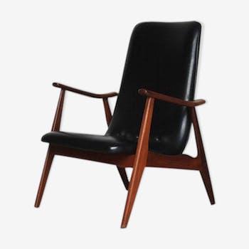 Lounge chair de Louis van Teeffelen pour Wébé 1950s