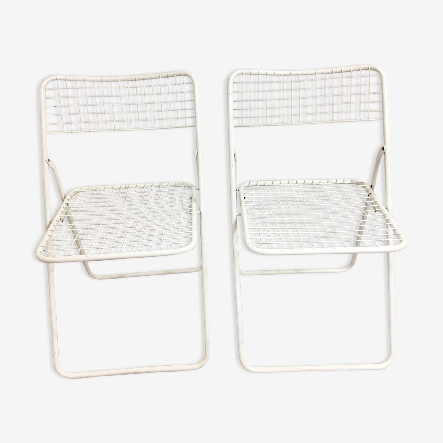 Chaises «Ted Net» par Niels Gammelgaard, 1978