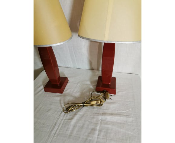 Pair of Drimmer lamps