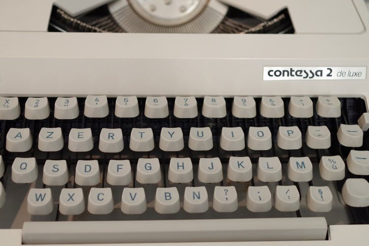 Machine à écrire années 1960 Triumph-adler contessa 2 de luxe (complet !) - en état de marche !