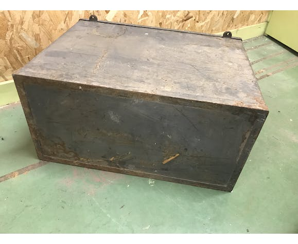 Case with metal handles
