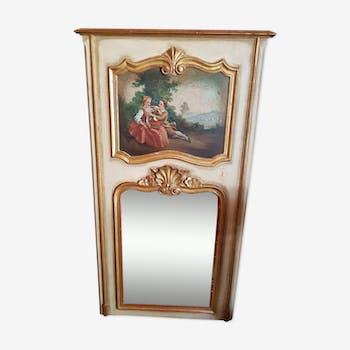 Former trumeau mirror 70x132cm