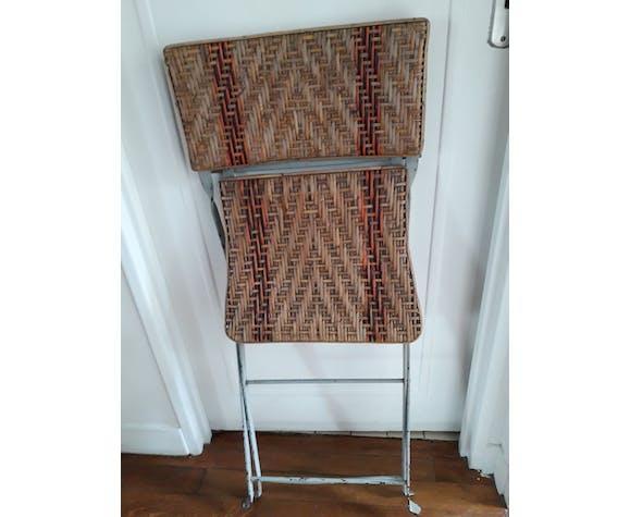 Chaise pliante, années 30