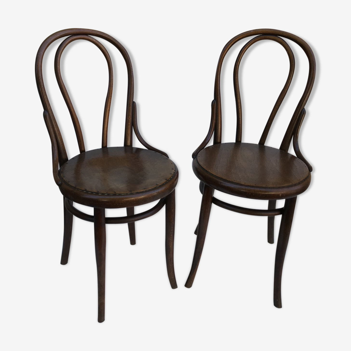 Pair of old Thonet chairs