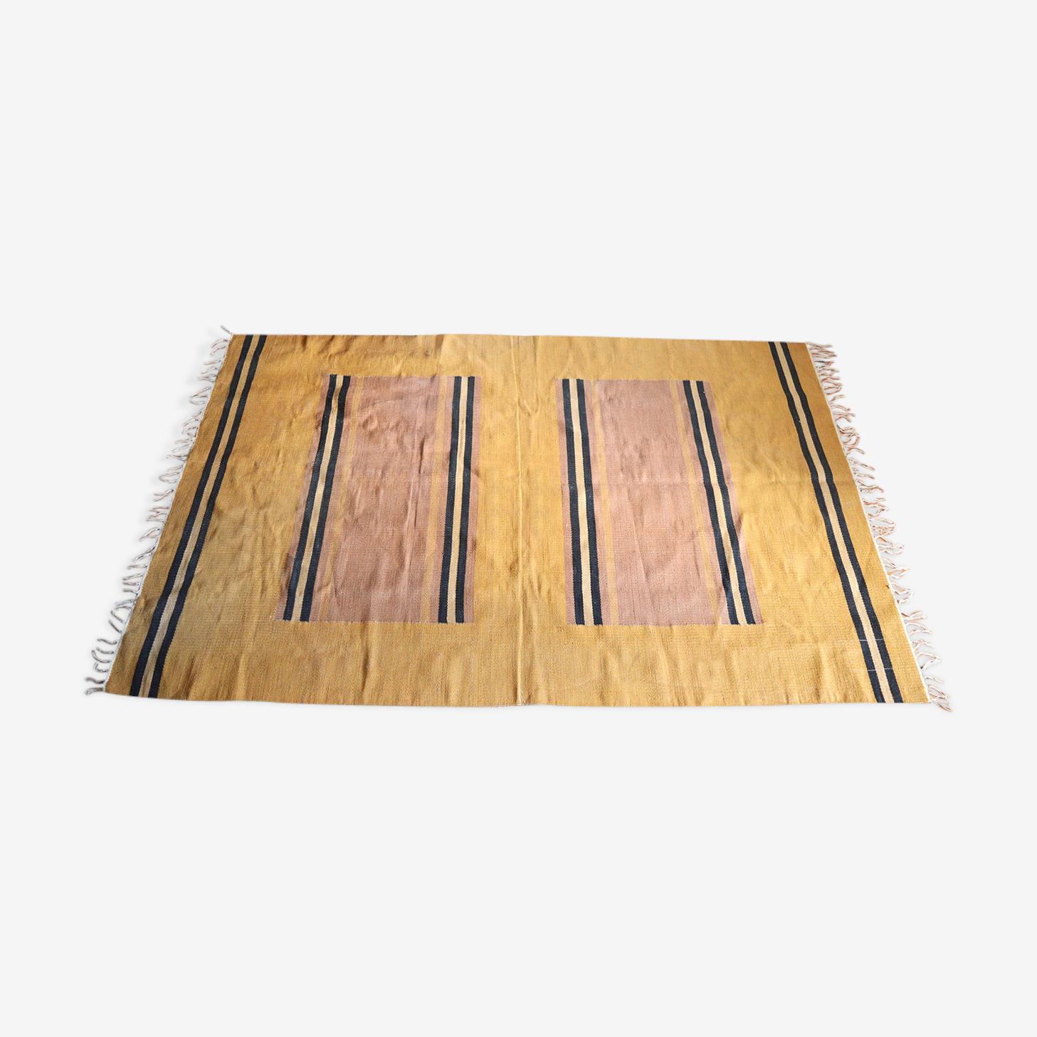 Carpet in burlap 140x200cm