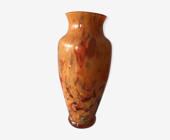 Vase verrerie d'art vintage