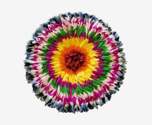 Juju hat handmade feather 85 cm.