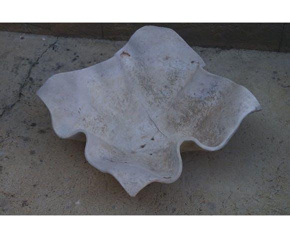 Vasque en fibro ciment de marque Élo, années 70