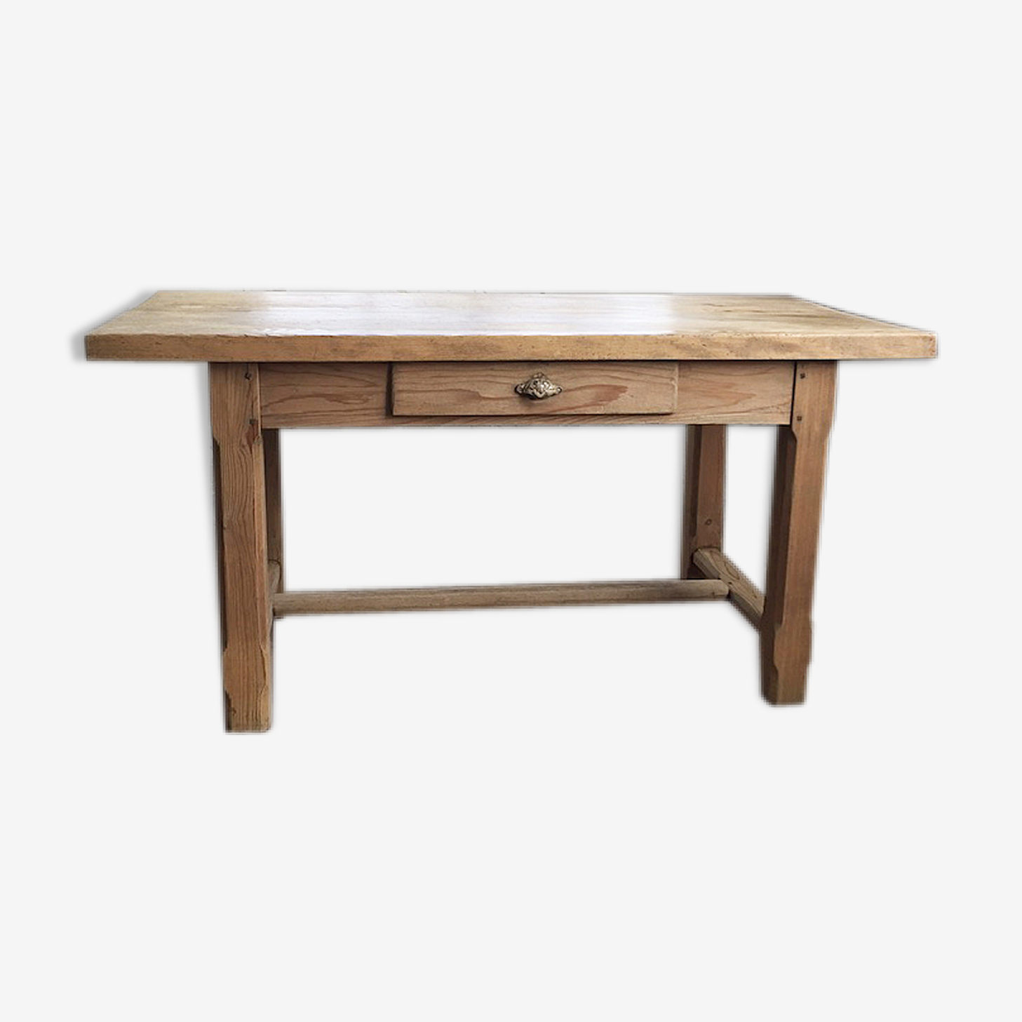 Table de ferme travail en pin