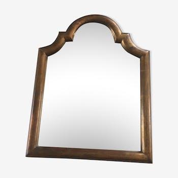 Miroir ancien, encadrement doré 41x32cm