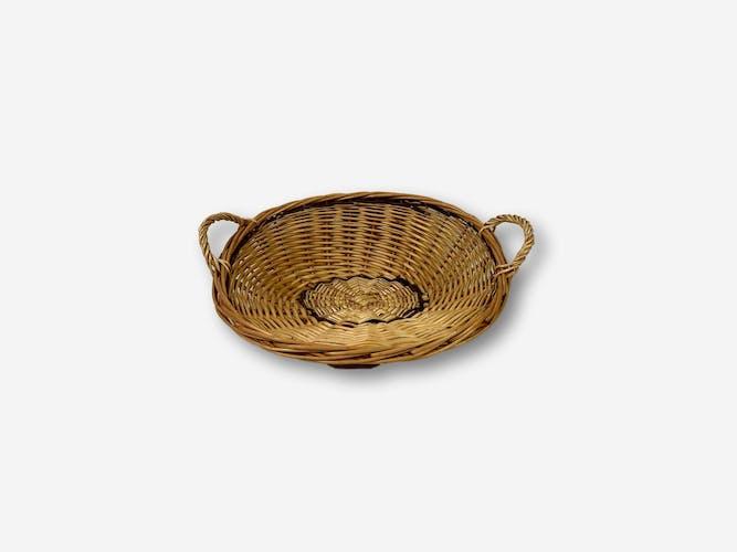 Round presentation basket