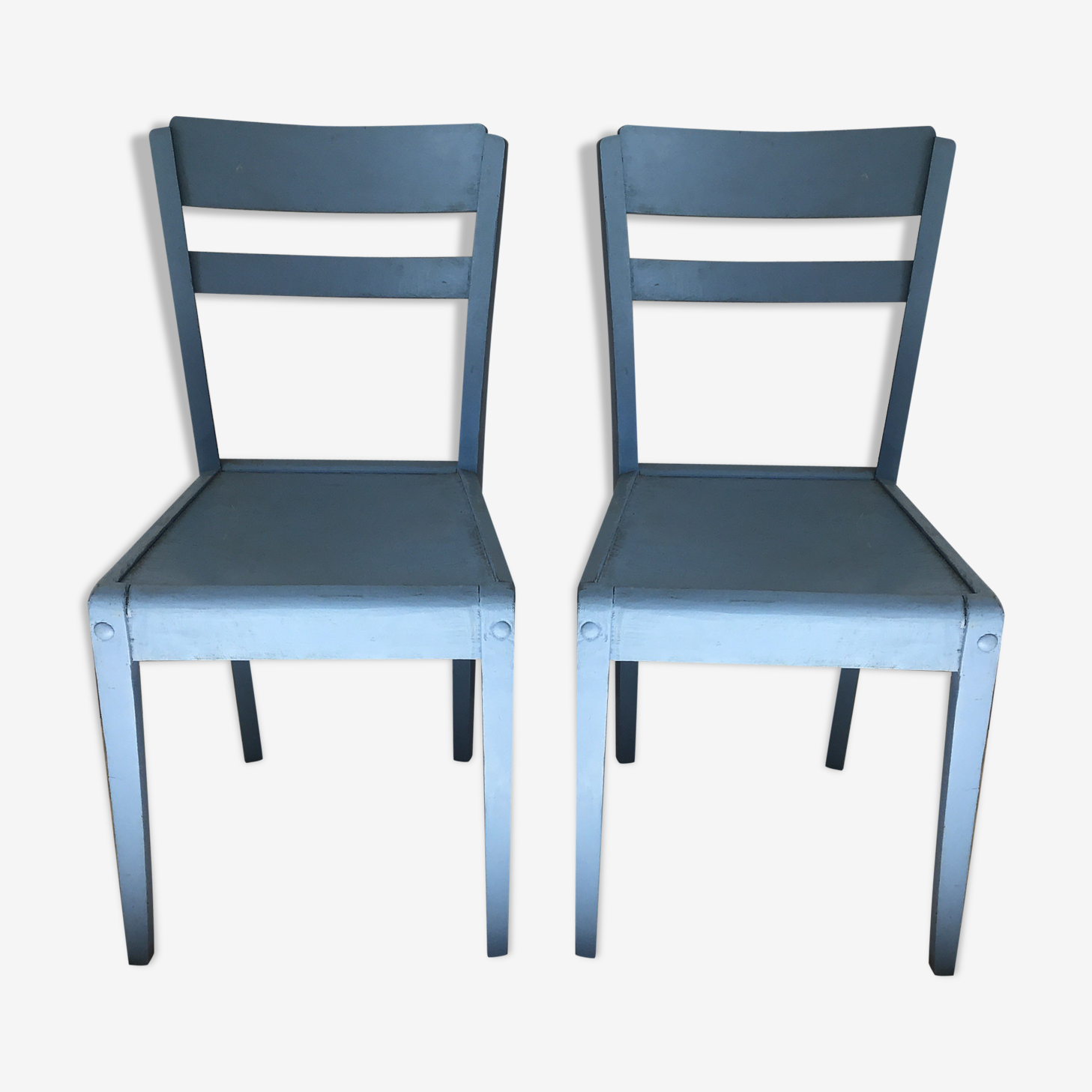 Pair of chairs by René Gabriel