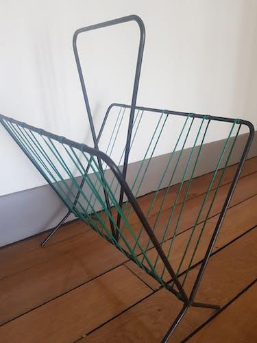 Porte revues fils vert