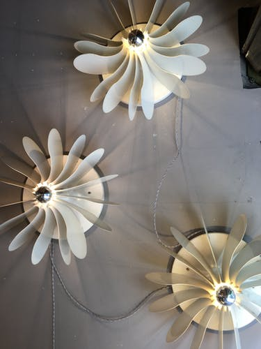 """Bolide"" wall light De Vogel for RAAK 1971"