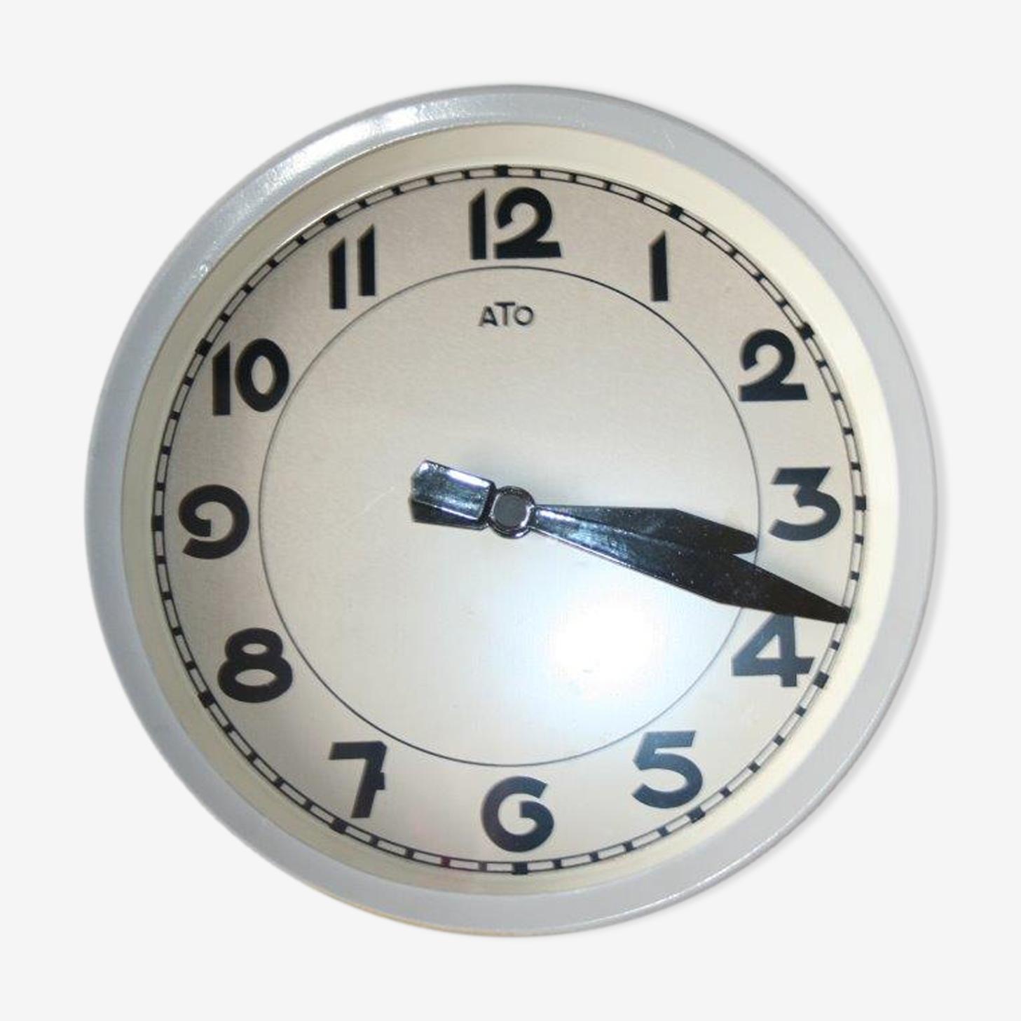 Horloge pendule Ato industrielle de gare