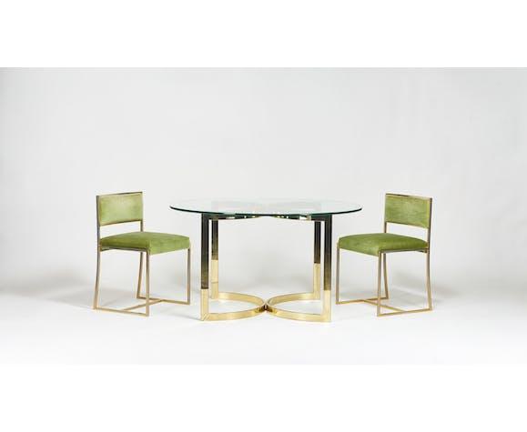Table de salle à manger ronde Boris Tabacoff pour Roche Bobois
