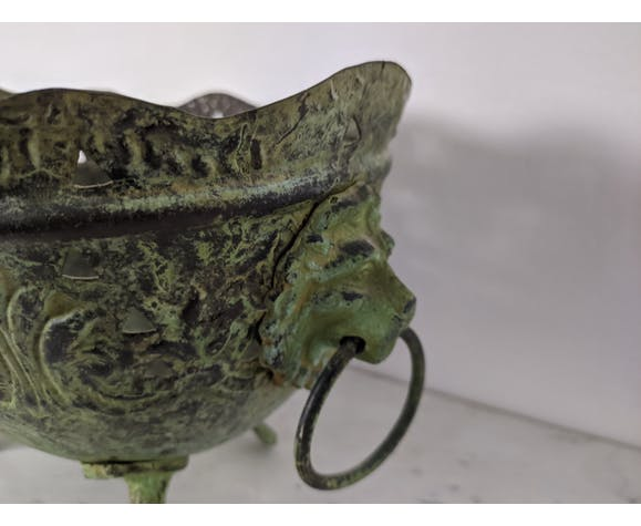 Cache pot ancien