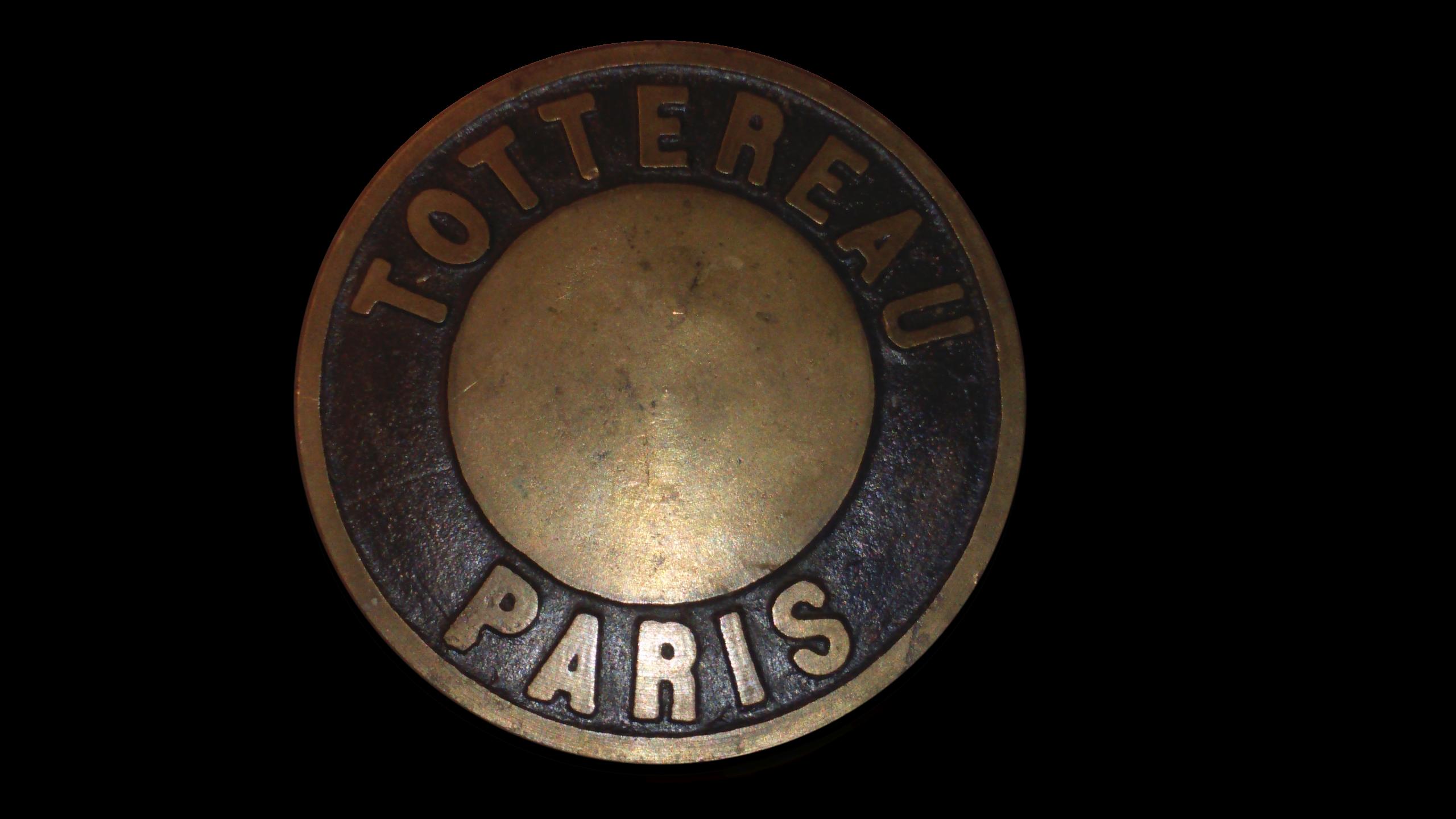 Vanne Ou Poignée De Porte Ancienne En Bronze