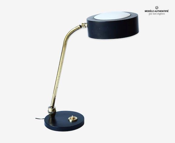 Lampe de bureau jumo fer noir vintage aurxv2b