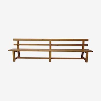 Nursery school bench solid wood