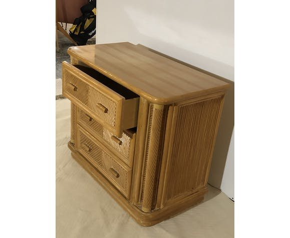 Commode bambou
