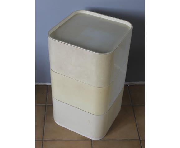 meuble bas modulable Castelli pour Kartell 1970