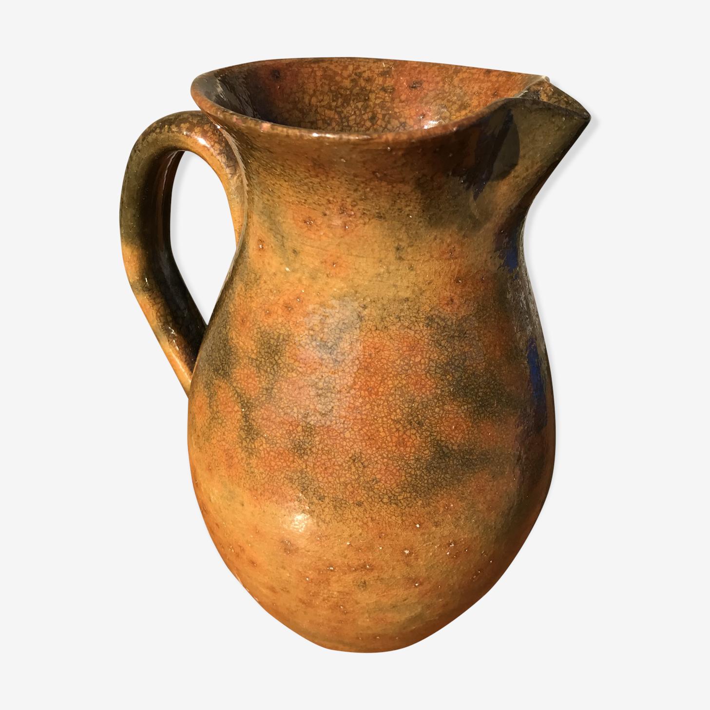 Pichet vintage en céramique