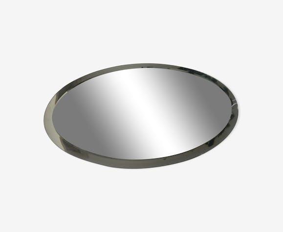 Miroir biseauté ovale 65,5x44,5cm