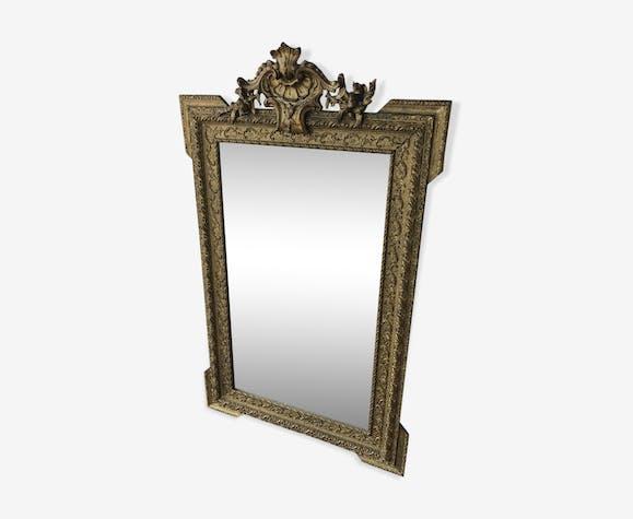 Louis Xv Mirror 75x125cm
