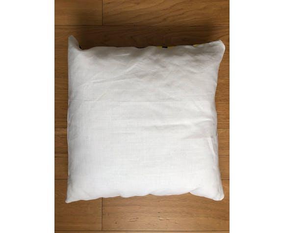 Coussin wax & lin 40x40 cm