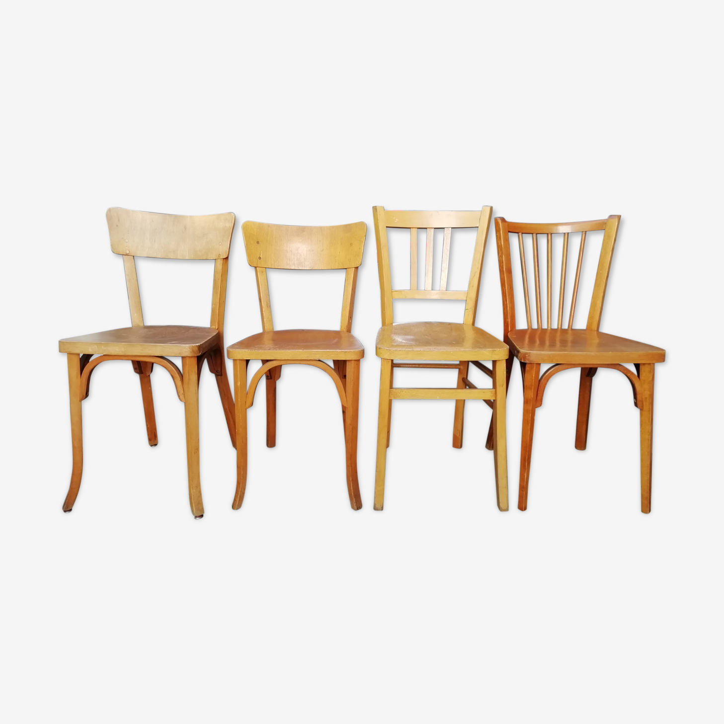 Old Bistro Baumann Luterma chairs