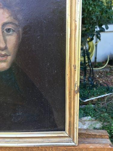 Portrait de jeune homme, huile sur toile