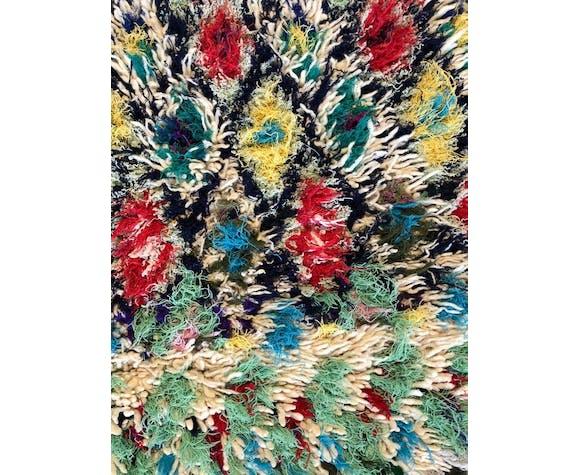 Tapis azilal berbère marocain  90x155 cm en laine