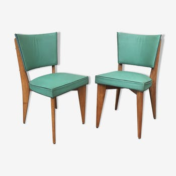 Pair of chairs style Scandinavian 1930